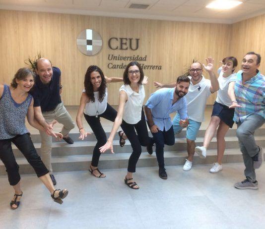Los profes de Fisioterapia de la UCH empiezan a divertirse con el inicio de las vacaciones escolares 2017