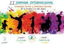 Cartel de la II Jornada Internacional del ICOFCV. Fisioterapia Escolar y Diversidad Funcional