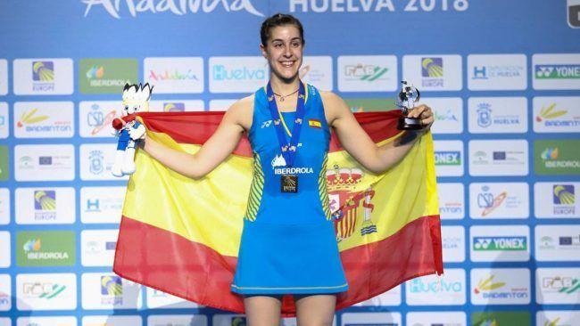 La española Carolina Marín, con su maravillosa motricidad, vuelve a ser campeona europea de bádminton