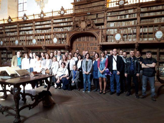 Pleno de decanos y vicedecanos de fisioterapia en Salamanca