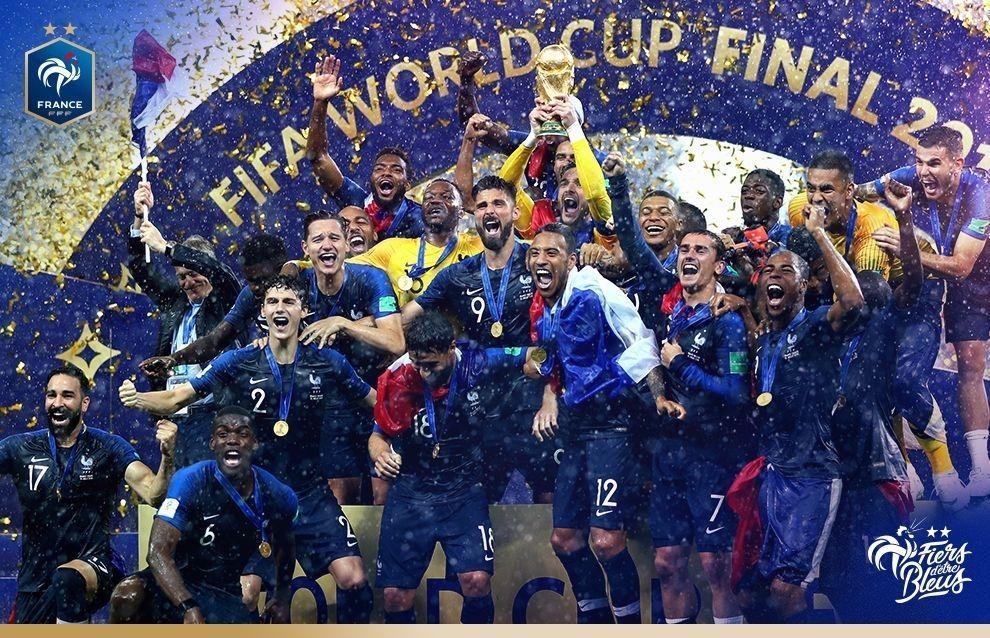 El fútbol de Francia cuenta con los fisios de los campeones del mundo. Fuente FFF