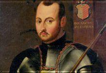 San Ignacio hacía ejercicios en su juventud, como muestra este cuadro anónimo en actitud guerrera