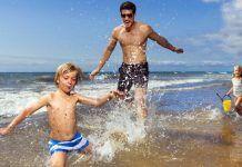 fisioconsejos para las familias veraneando en la playa. FOTO aravisión