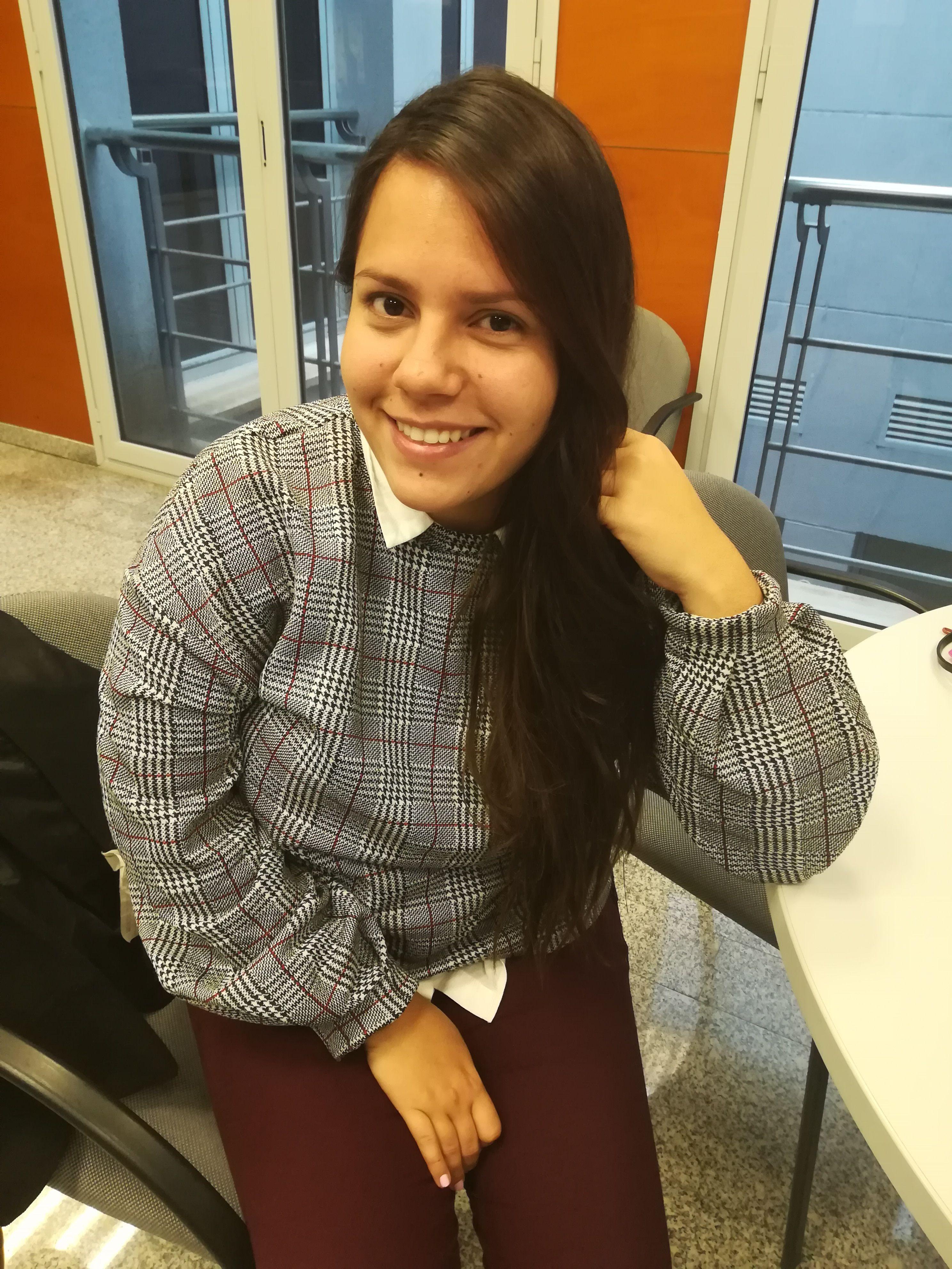 Delegada de alumnos en 2º de Fisioterapia CEU-UCH. María Mercedes Flautes Rojas