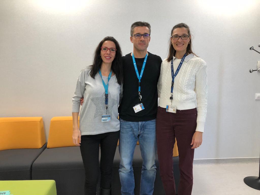 Nuevos cargos en Fisioterapia UCH. Gemma Biviá, Javier Gramage y Mª Dolores Arguisuelas.