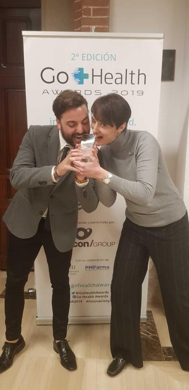 Seguimos cosechando premios con Fran Ferrer y Noemí Valtueña en Fisioterapia CEU-UCH