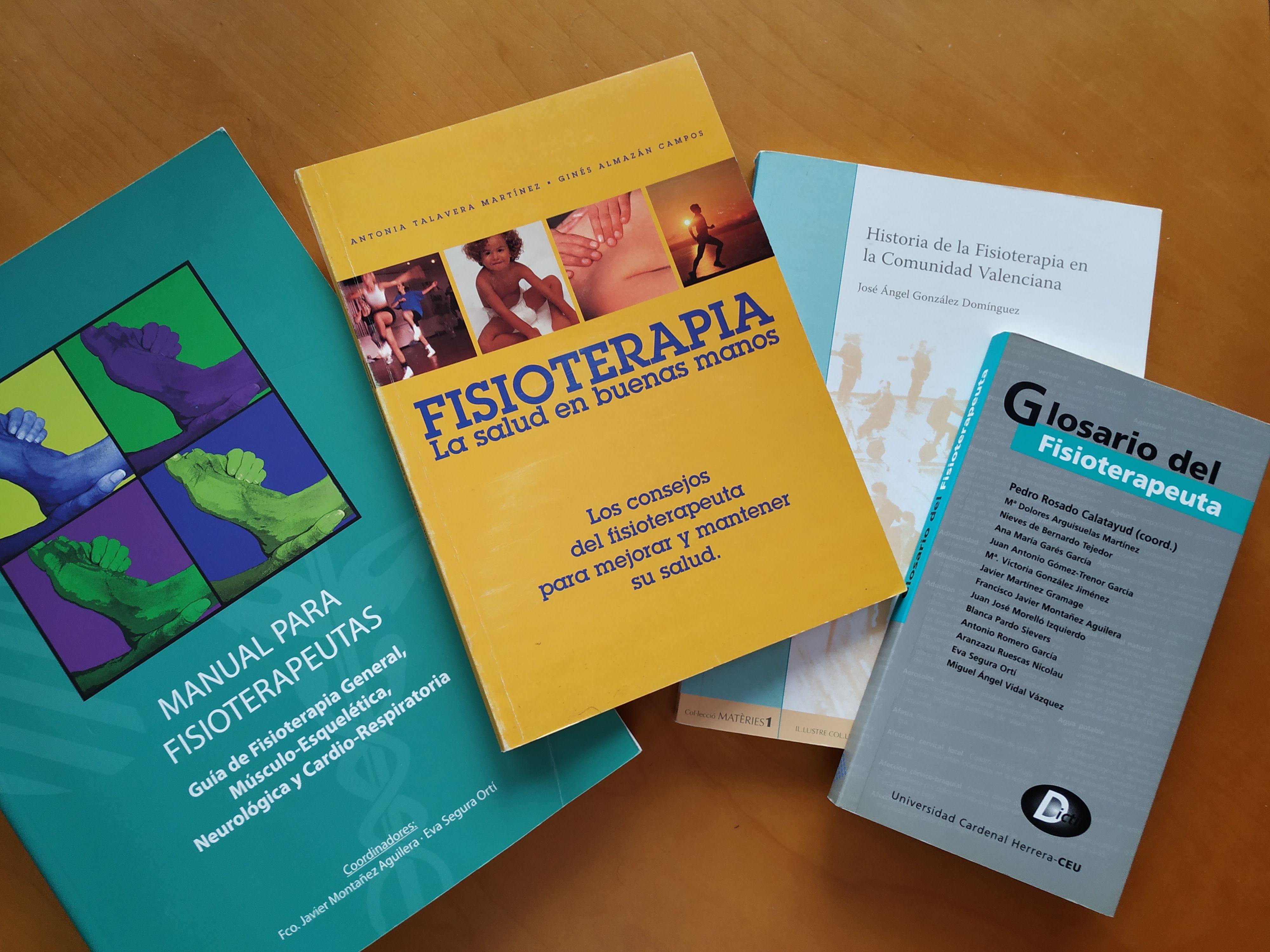 Celebremos el Día del Libro leyendo Fisioterapia