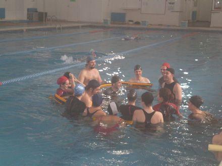 Hidroterapia con el profesor de la CEU-UCH Javier Martínez Gramage