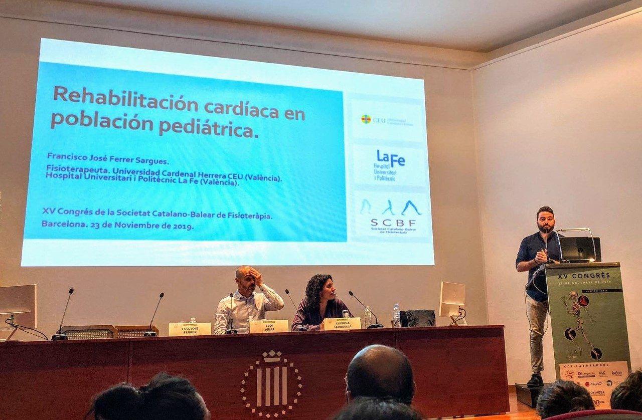 Rehabilitación cardíaca pediátrica de la mano del experto Fran Ferrer, profesor CEU-UCH