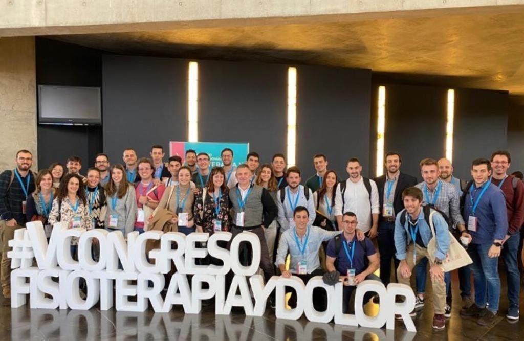 Fisioterapeutas valencianos en el Congreso SEFID en Zaragoza, entre ellos el Decano del ICOFCV, José Casaña Granell.