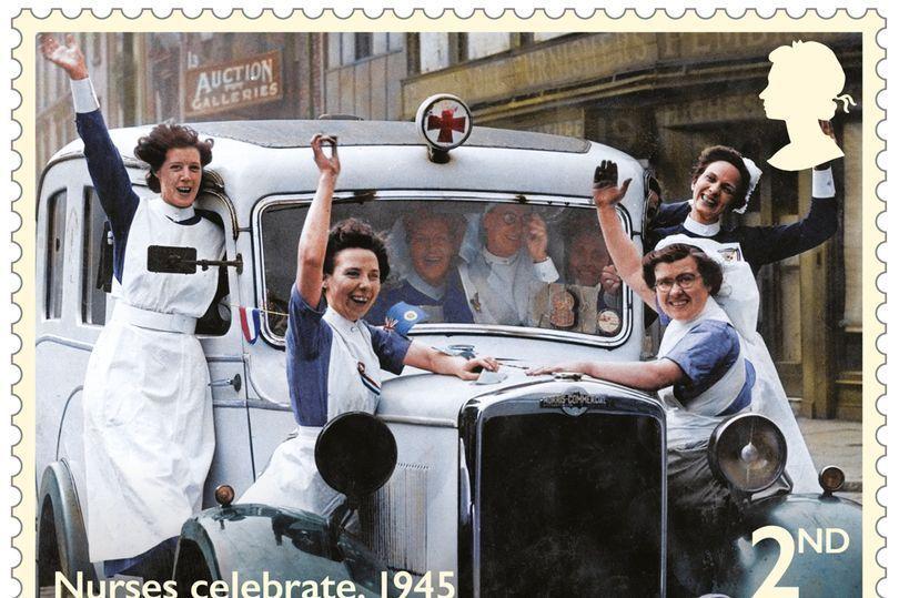 Día de la Victoria. Nuevo sello británico conmemorativo del 75 aniversario del fin de la II Guerra Mundial en Europa. Fuente: mirror.co.uk