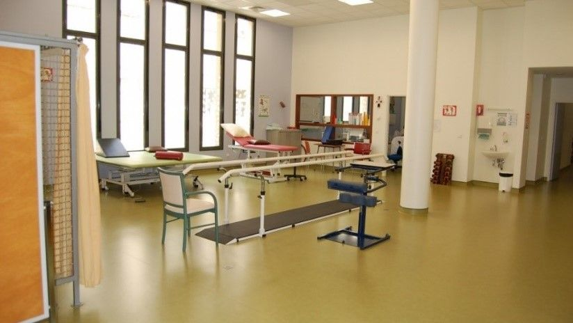One of the facilities in the hospital