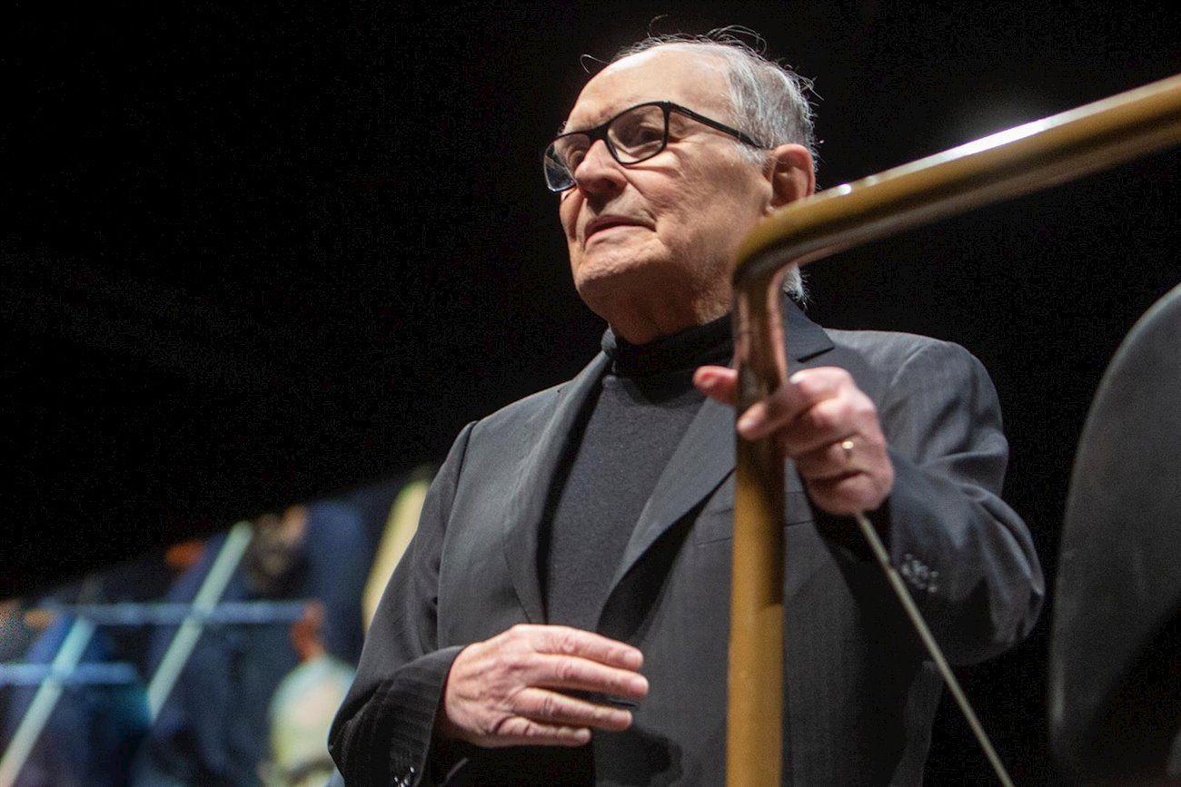 Una caída en el cine nos llena de luto. Fallece Ennio Morricone. FUENTE Europa Press