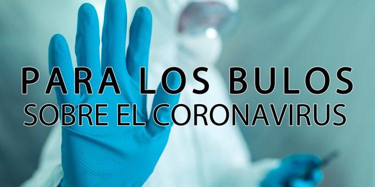Stop a los bulos del COVID-19. Fuente iconográfica: elforodeceuta.es
