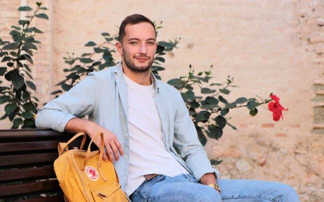 Antonin Biret, éudiant de Kinésihtérapie au CEU Elche
