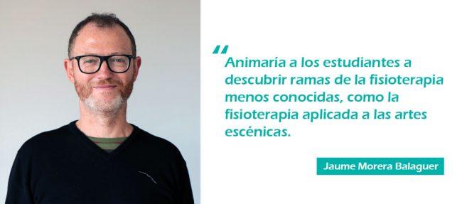 El profesor de Fisioterapia del CEU de Elche, Jaume Morera Balaguer