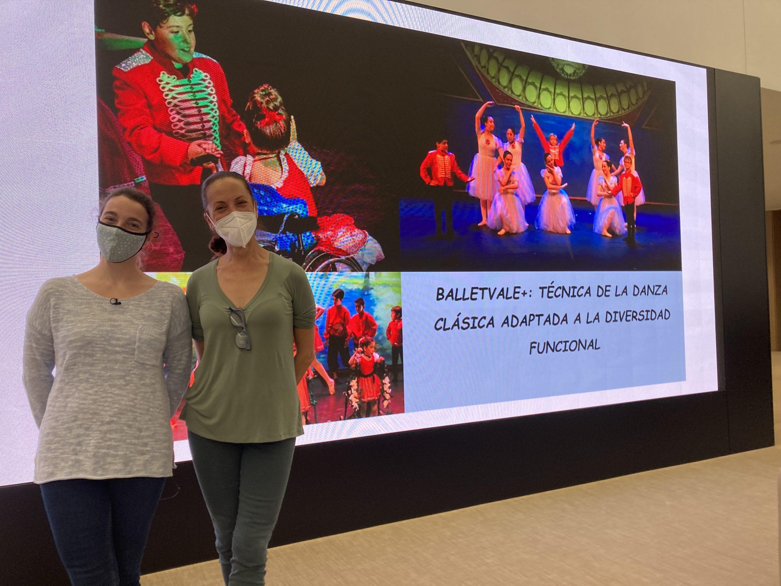 Ballet y Fisioterapia. Patricia Morán y Esther Mortes en nuestras Charlas con Ciencia