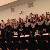 Magníficos alumnos, magníficas voces.