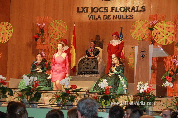 Elena Amiguet premiada en los LXI Jocs florals Vila de Nules 2014