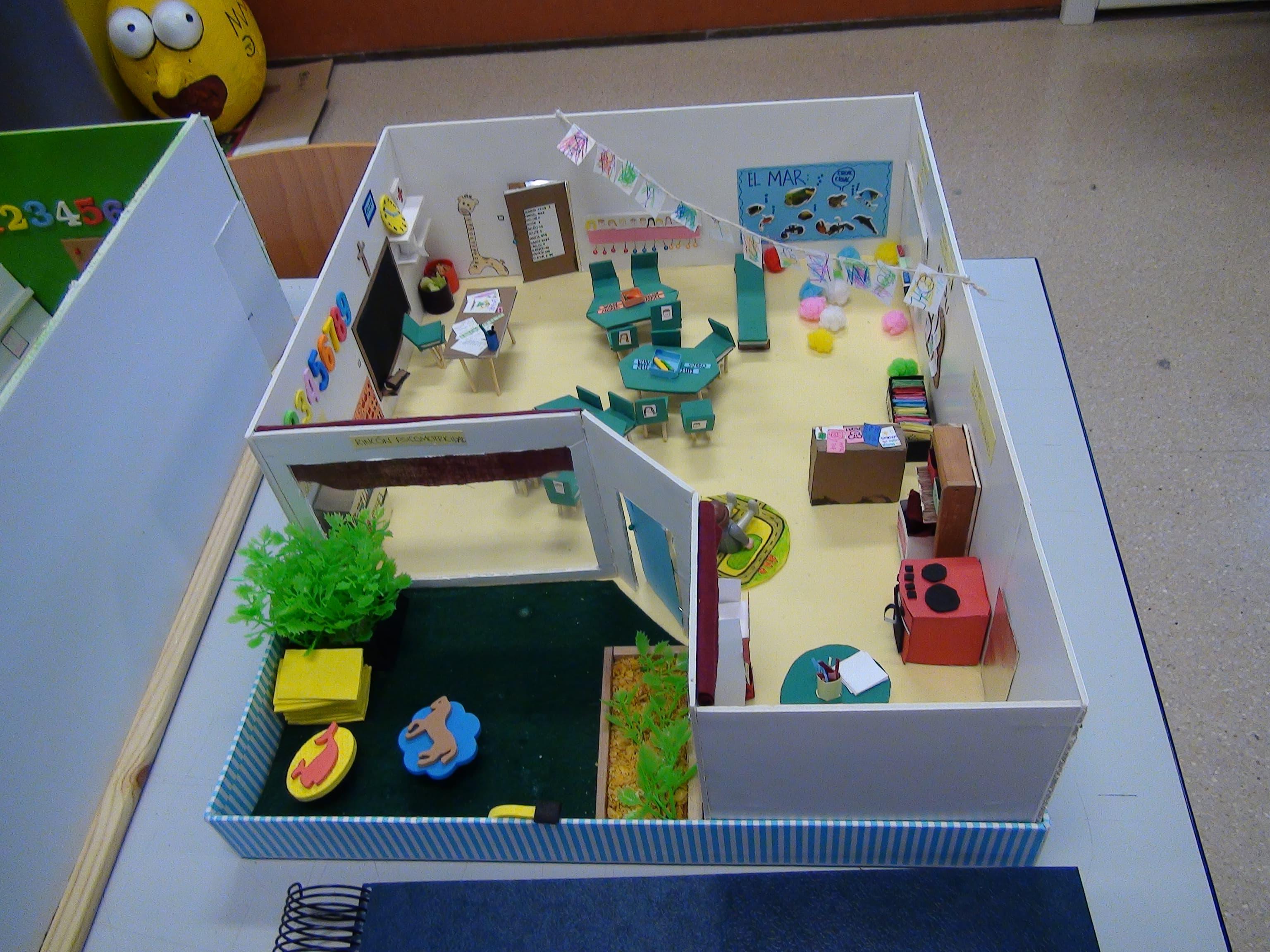 Conocemos la realidad del aula mediante la construcci n de for Proyecto construccion de aulas escolares
