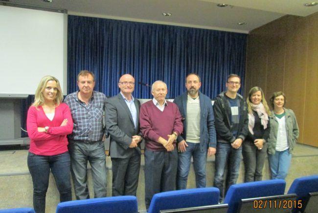 Professorat de Capacitació d'Elx, amb els conferenciants