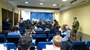 Salón actos - Sede UCHCEU Elche (Carmelitas)