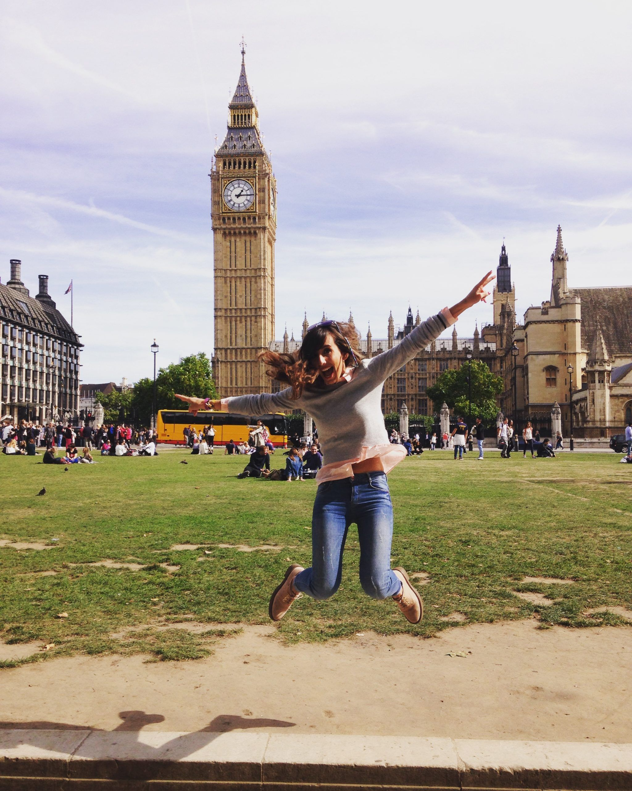 Judit, jumping into a new life in London!
