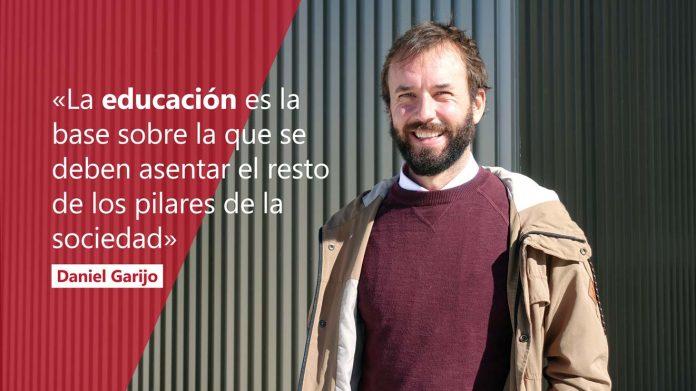 Daniel Garijo, profesor de Idiomas de la CEU UCH