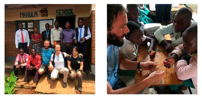 Imágenes de la misión solidario Vets for Africa