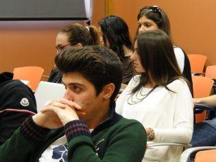 Alumnos en seminario Business Plan