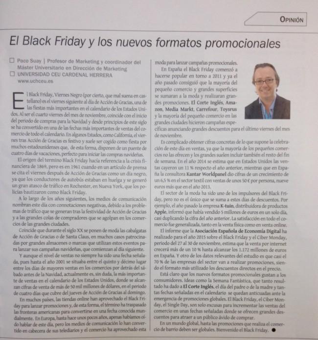 artículo Eco 3 black Friday