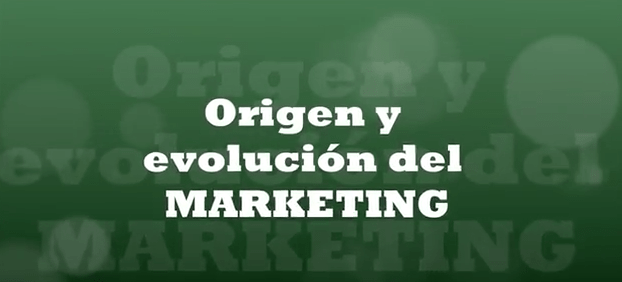 Origen y evolución del marketing