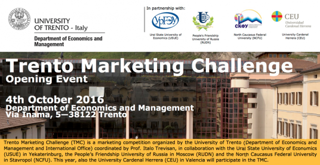 Trento Marketing Challenge