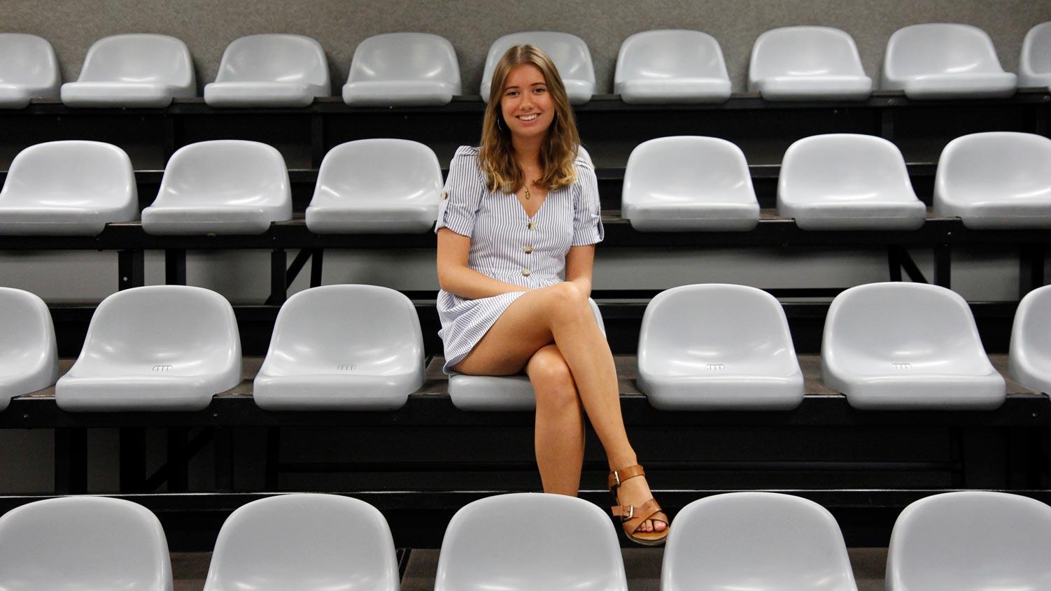 Erasmus student in CEU Valencia