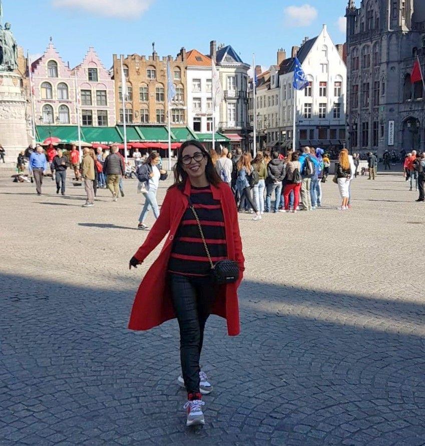 Visiting Brugges!