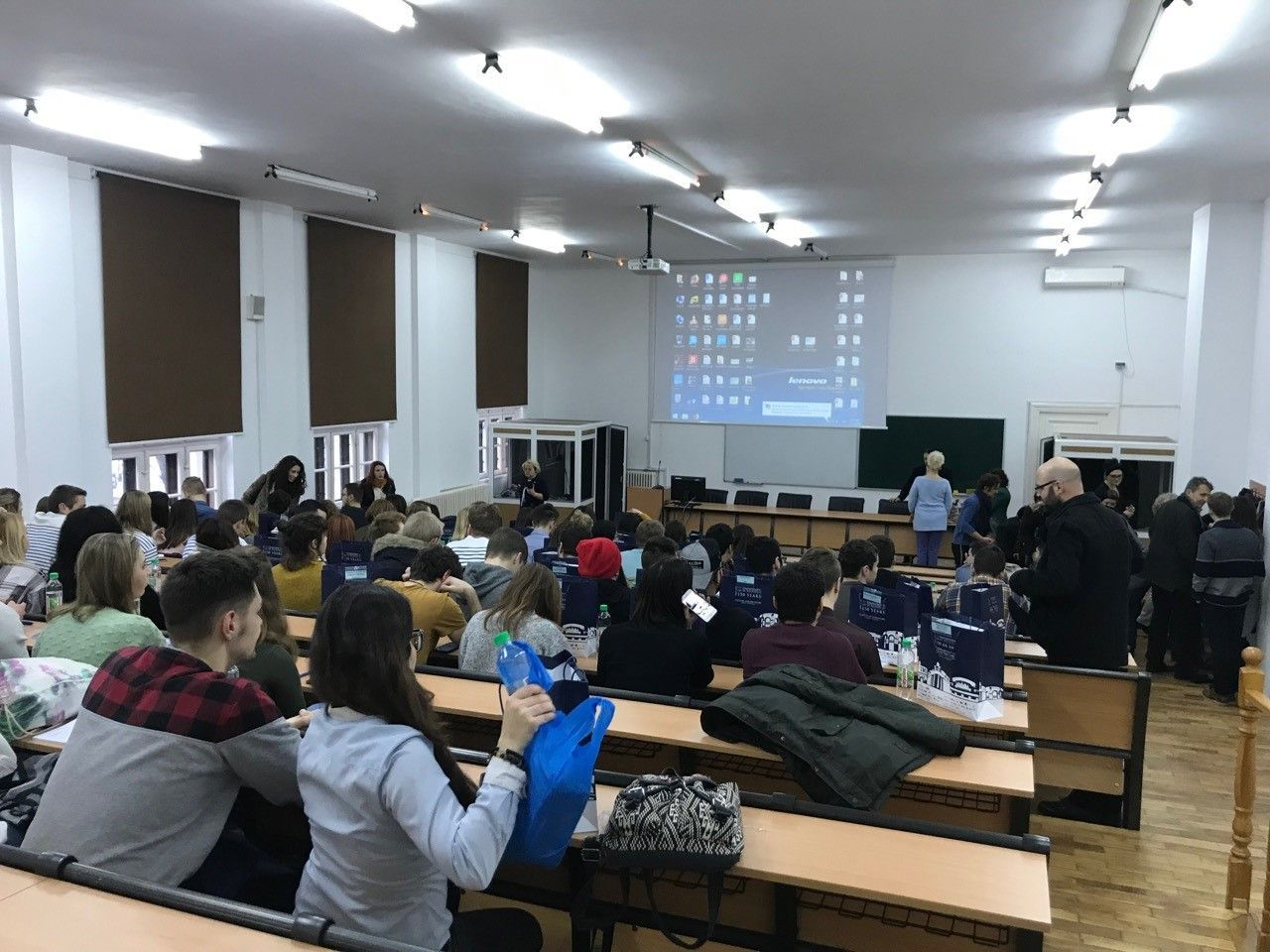 A view of the sessions at Bucharest