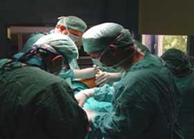 Primer trasplante hepático en España