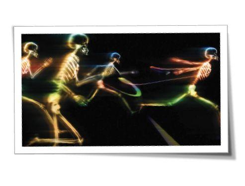 esqueletos running