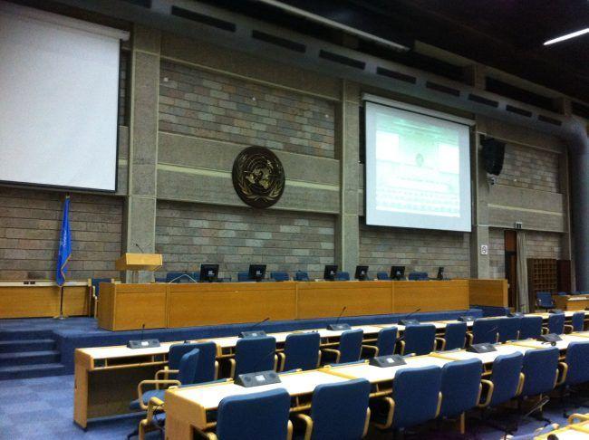Las oficinas de la ONU en Nairobi, kenia