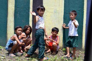 Niños en Quezon City. MedipinasCEU