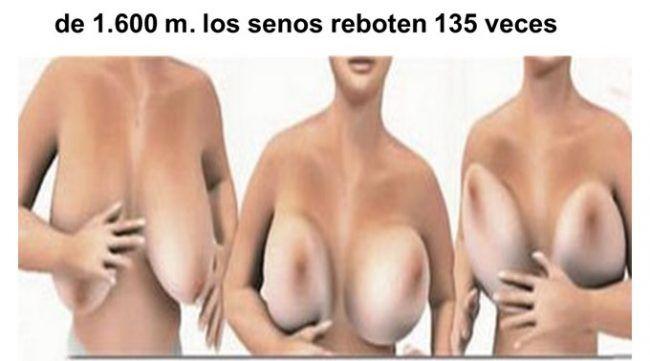 Movimiento de las mamas cuando se corre