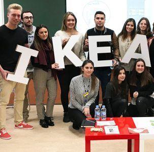 IKEA visitó la CEU UCH para conocer a los candidatos que optaban a sus ofertas de trabajo