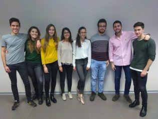 Alumnos de tercero de medicina de Castellón