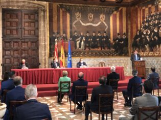 presidential proclamation in Generalitat