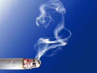 Cigarette smoking is harmful to oral health