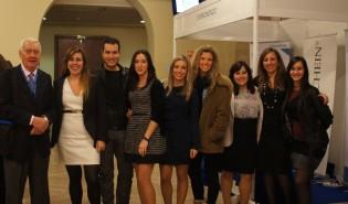Carla con sus compañeros del Máster en AEDE 2012