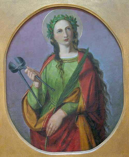 Do you know who is Saint Apollonia?