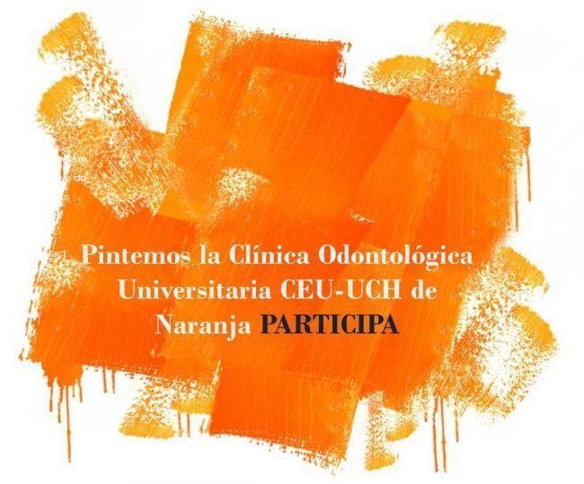 foto de logo sobre pintar el mundo de naranja