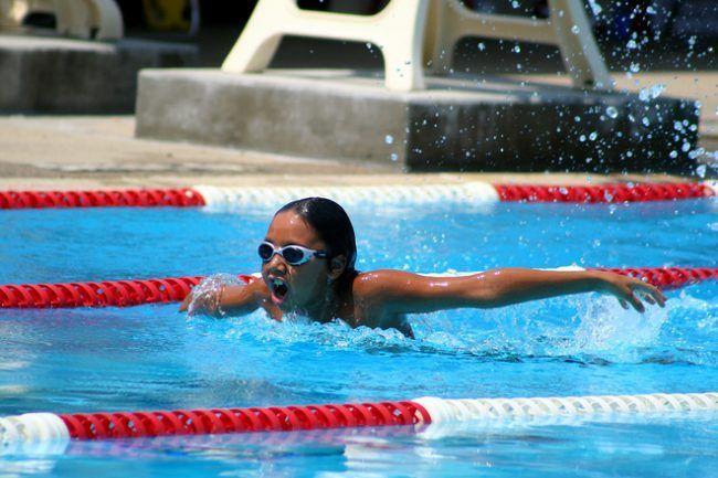 nadadora profesional