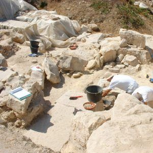 Archaeological investigation of ancient artifacts